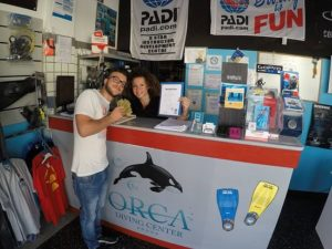 Reception Orca Diving Center