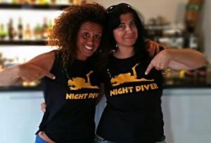 Specialità notturna, Night Diver, Immersione