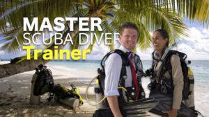PADI Master Scuba Diver Trainer internship