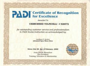 riconoscimento per il lavoro svolto e professionalità