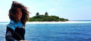 Grazia Palmisano, Maldive, Thailandia